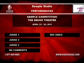 Video Judge - Demo Menu